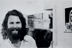 Jim Morrison I love this picture. Great smile.