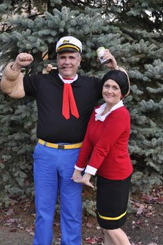 Sail the night away with this classic duo. Requiring just a few simple pieces and statements, this couple costume is easy and fun to replicate. Get the tutorial at Your Homebased Mom.