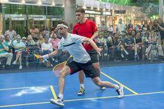 Zwei Wochen lang stand im Europark in der Stadt Salzburg alles im Zeichen des Squashsports. Am Samstag setzte sich Lyell Fuller im rein britischen und rasanten Finale gegen Emyr Evans mit 3:0 durch. Wir haben einige Impressionen von der bereits vierten Auflage der Austrian Squash Challenge gesammelt.