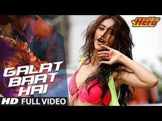 Galat Baat Hai Video Song | Main Tera Hero | Varun Dhawan, Ileana D'Cruz, Nargis Fakhri - YouTube