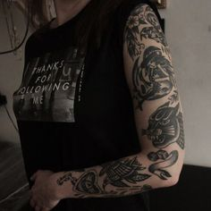 47 Best Black Old School Tattoos Images Awesome Tattoos Ink