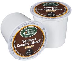 Green Mountain Coffee Vermont Country Blend Decaf, K-Cups for Keurig Brewers, 50 ct