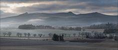 Bennachie Misty Morn, Aberdeenshire, Scotland.