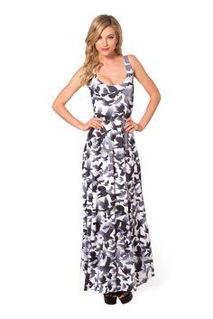 C - Raven Maxi Dress (48HR) by Black Milk Clothing $125AUD - Medium