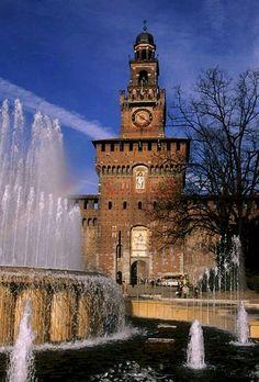 Castelo Milano, Italy.
