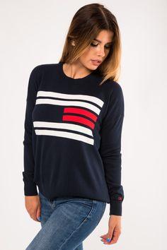 Tommy Hilfiger, T Shirts For Women, Sweatshirts, Long Sleeve, Sleeves, Sweaters, Fashion, Moda, Long Dress Patterns