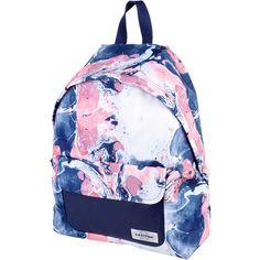 Eastpak Rucksacks & Bumbags (€69) ❤ liked on Polyvore featuring bags, handbags, pink, back pack handbags, backpack purse, rucksack purse, logo backpacks and pink bag