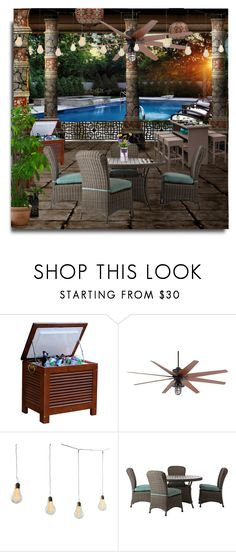 """""""Pool Party"""" by erina-i on Polyvore featuring interior, interiors, interior design, home, home decor, interior decorating, Home Decorators Collection and Modern Sprout"""