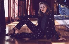 Daga Ziober is the Face of BCBG Holiday 2016 Campaign