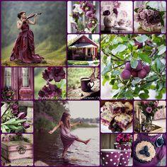 '' Plum Cottage Charm ''... By Reyhan Seran Dursun