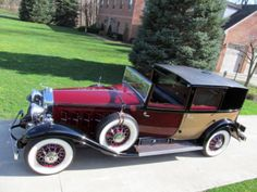 1931 Cadillac Fleetwood 4264B Town Brougham V-16 Open Front Town Car