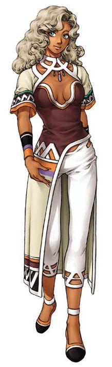 Xenogears Character Design : Grahf characters art xenogears video game