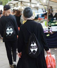 #Berlin by @Ebba Zingmark / #Lovisa #Caps / #Tove #Cape / #Sue #Highwaist #Black #Jeans / #Valley #Beanie / #Kreuzberg #Market #Strolling #EbbaZingmark #Mag #JUNKYARD #JUNKYARDXXXY