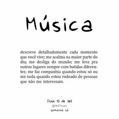 Dose 10 de 365 Good Music Quotes, Lyric Quotes, Life Quotes, Music Education Lessons, Music Notes Background, Mental Health Articles, Music Festival Logos, Gemini Woman, Music Pictures