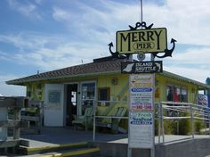 Merry Pier in historic Pass-a-Grille on St. Pete Beach offers bait, fishing charters, dolphin watching, fresh fish for sale, snacks, drinks and tackle gear. Visit this local bait shop before you spend a day fishing on our gulf beaches. http://merrypier.com/  Want to know more about our area? Visit us at http://paradisenewsfl.com