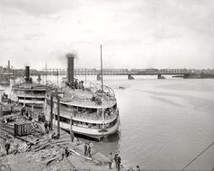 Sidewheeler 1910 Toledo, Ohio