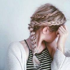 double braid//