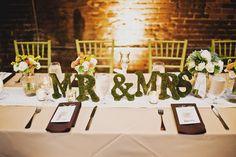 #tablescape #weddings #mrandmrs
