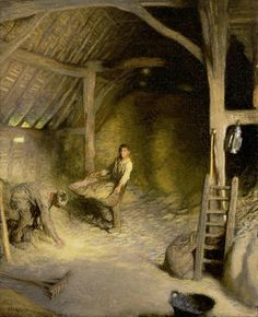 George Clausen - The Golden Barn