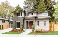 Architectural Designs Modern House Plan 23536JD comes to life. 3 beds, 2.5 baths and almost 2,600 square feet of living space. Ready when you are. Where do YOU want to build?