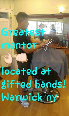 Always learning from the best mentor/boss there is! Come see us at Gifted Hands Barber Shop, Warwick, NY Always Learning, Fun Learning, Barber Shop, Boss, Hands, Good Things, Gifts, Favors, Barbershop
