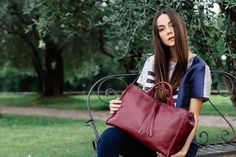 Granada is an exclusive collection of Gianni Segatta, Venetian artisan designer who goes beyond the standards and creats unique hand-crafted bags using the fine Del Conte, Exclusive Collection, Venetian, Italian Leather, Artisan, Unique, Bags, Design, Handbags
