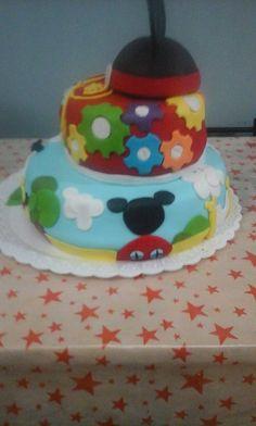 torta casa mickey mouse
