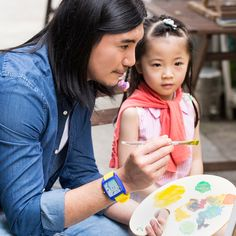 We can be different in many ways, yet we can share the same dreams.  #MomentWatches #MW #Passion #Art #pursuit #wisdom #lemon #lemonade #optimism #positive #energy #children  #painting #Watch #gift #Design #color  #blue #yellow