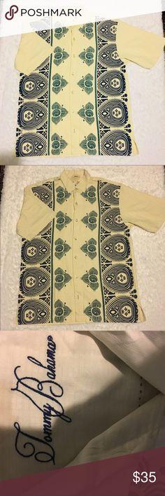 Tommy Bahama men's shirt Great like new condition sizeM. 100% silk Tommy Bahama Shirts Dress Shirts