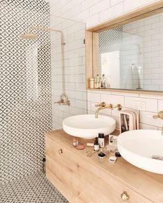 bathroom inspiration modern bathroom style inspiration Tips For Bathroom Design You might be buildin Bad Inspiration, Bathroom Inspiration, Home Decor Inspiration, Decor Ideas, Bathroom Ideas, Bathroom Wall, Washroom, Bathroom Organization, Boho Bathroom