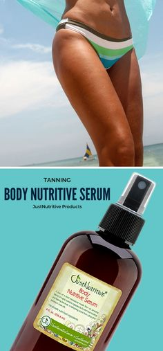 This body nutritive tanning serum is the perfect product for mature skin. This spray for tanning helps  to hide the stretch marks and even varicose veins. Diminish the appearance of dry, flaky skin and crepey skin, leaving your skin softer, smoother and healthier.