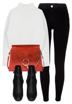 Untitled #6463 by laurenmboot on Polyvore featuring polyvore, fashion, style, Dion Lee, River Island, Yves Saint Laurent, Chloé and clothing