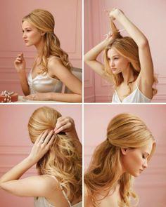 How To Do Hairstyles Tutorials 480x600 Como hacer peinado de novia