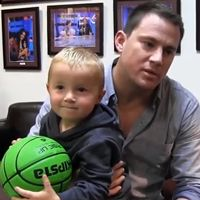 This Kid Is So Amazing Hitting Incredible Basketball Trick Shots This Video Features Channing Tatum And Bradley Cooper