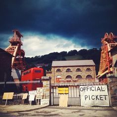 snap of the big pit during a #filmproject for the #screennetwork #cardiff. #filming #blackmagic #4k