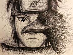 ✔ Anime Dibujos A Lapiz Naruto Naruto Sketch Drawing, Naruto Drawings, Anime Drawings Sketches, Anime Sketch, Itachi Uchiha, Naruto Shippudden, Arte Dope, Arte Ninja, Anime Akatsuki