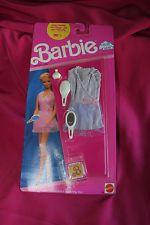 NEW BARBIE DREAM WEAR PINK & LILAC OUTFIT 1990 dreamwear Mattel