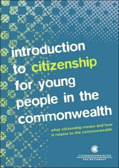 #newbooks : Introduction to citizenship for young people in the commonwealth by H. Yanacopulos and S. Raju - 361 INT