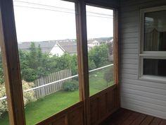 Extend seasonal view second floor balcony