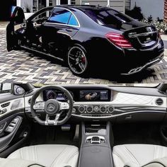 Best classic cars and more! Mercedes Benz Maybach, Mercedes Car, Mercedes Benz Interior, Merc Benz, Mercedez Benz, Mercedes S Class, Best Luxury Cars, Sport Cars, Dream Cars