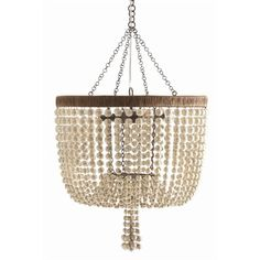 """Arteriors Viola Chandelier, 29"""" h x 20"""" d, over kitchen dining table"""