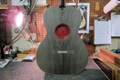 Infinity Table, Custom Guitars, Acoustic Guitar, Epoxy, Awesome, Tables, Music, Room, Santa Cruz