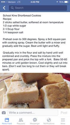 School Kine Shortbread Cookies