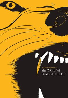 The Wolf of Wall Street (2013) ~ Minimal Movie Poster by Alessandro Arcidiacono #amusementphile