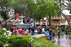 Loja's many plazas add to its atmosphere