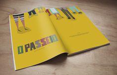O PASSEIO -  ILUSTRATION by INELO Design Studio, via Behance