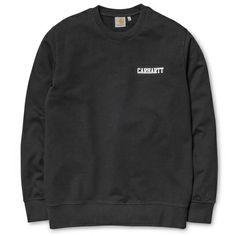 Carhartt WIP College Script Sweatshirt http://shop.carhartt-wip.com:80/it/men/new/sweats/I015059/college-script-sweatshirt