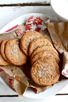 Buttery Gingernut Cookies