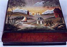 Betty Caithness Patrons et pièces de bois pour peinture décorative