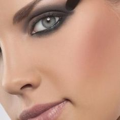 Stage makeup calls for bold lines and darker colors, especially around the eyes.
